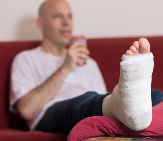 Recovering from Ankle Surgery